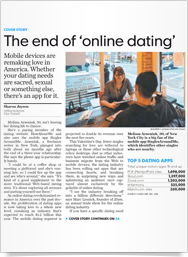 The End Of Online Dating Usa Today